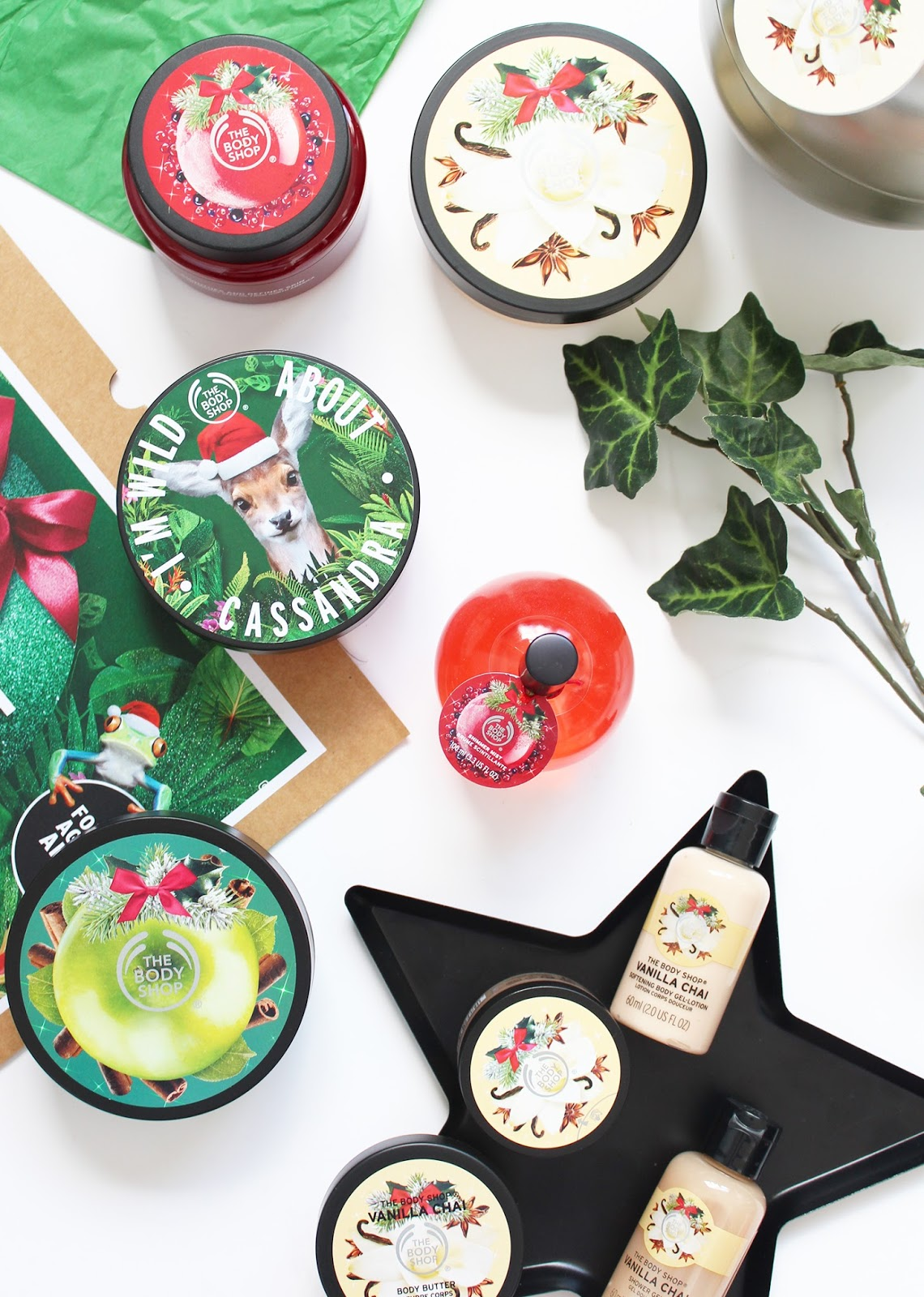 THE BODY SHOP | Christmas Range 2016 - CassandraMyee