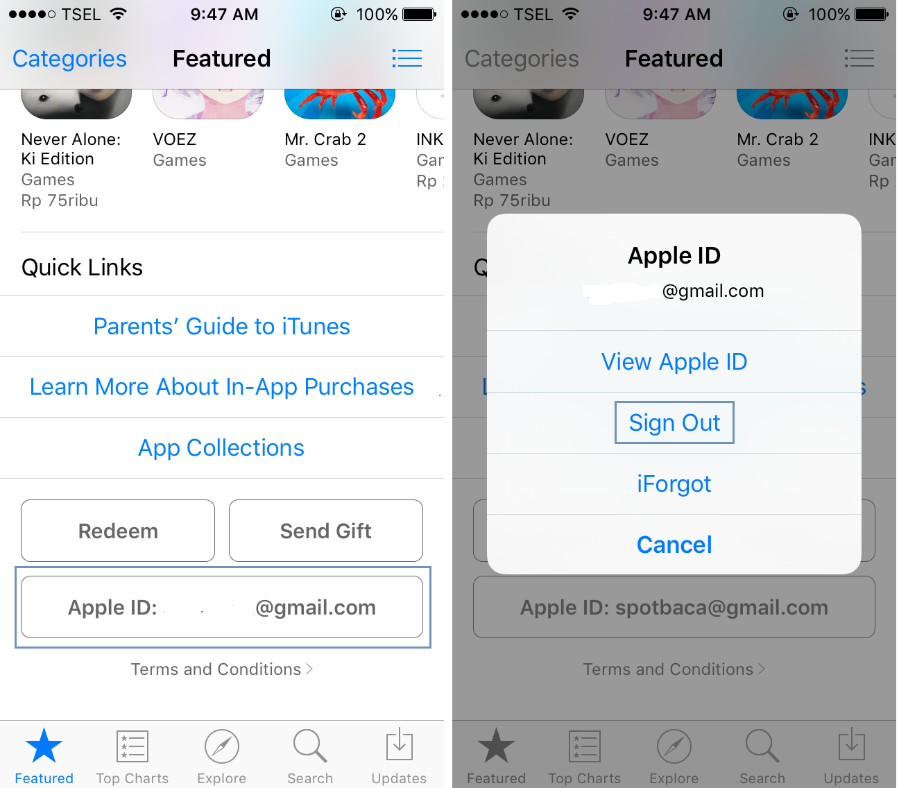how to change your app store country ios 7