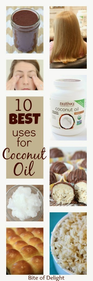 10 Best Uses for Coconut Oil