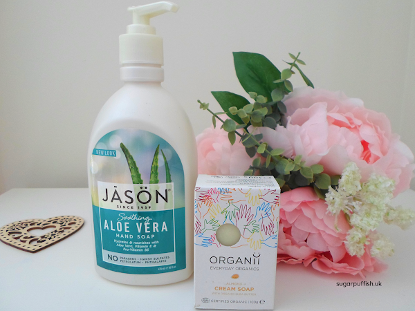 Review for Love Lula: Jason Organic Soothing Aloe Vera Hand Soap & Organii Cream Soap Almond