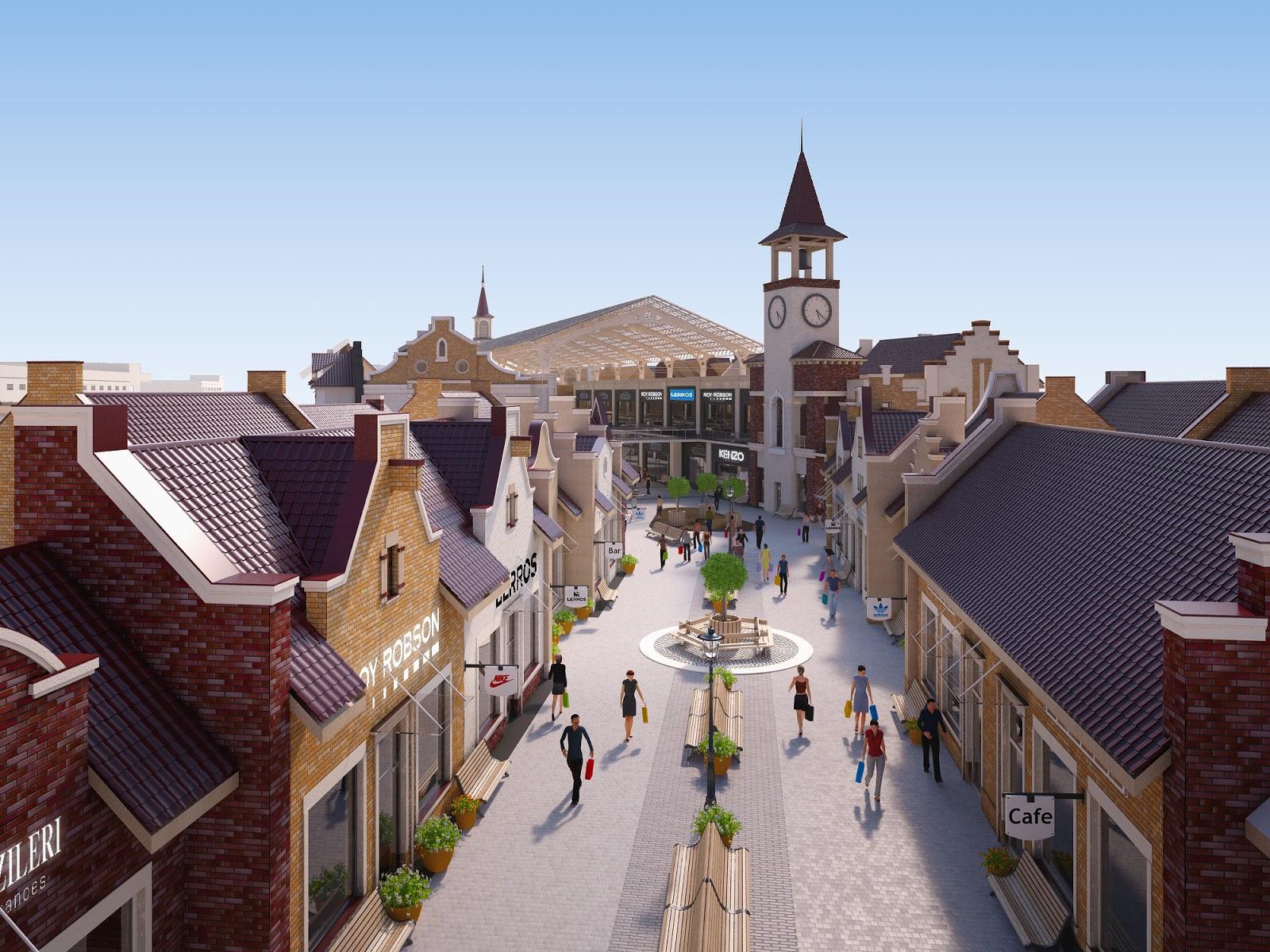 Manufactura Kiev Outlet Village opens doors in October 0df3fda2b5b4c