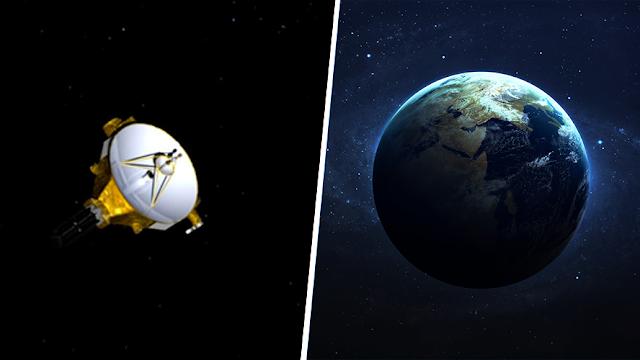 Sonda de la NASA 'llama a casa' en misión histórica al borde del Sistema Solar