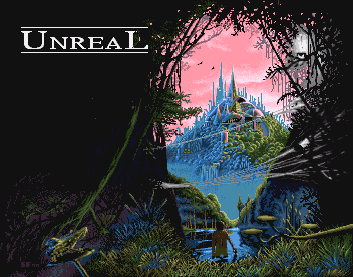 Unreal Title Screen Amiga Ubisoft