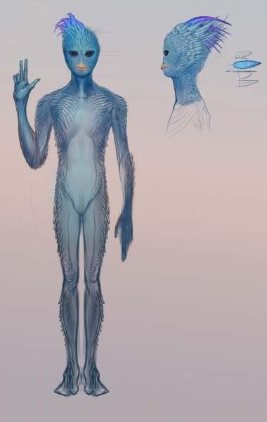 外星人藍鳥人