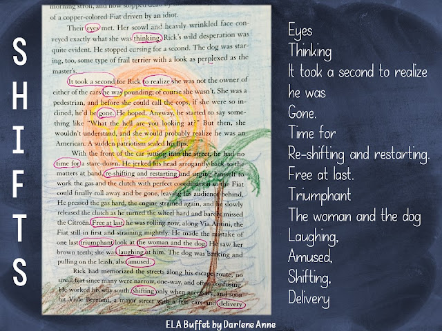 Found Poetry is an awesome writing station addition. And it's a great way to re-purpose dilapidated  books!