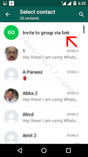 how to create whatsapp group link 2018