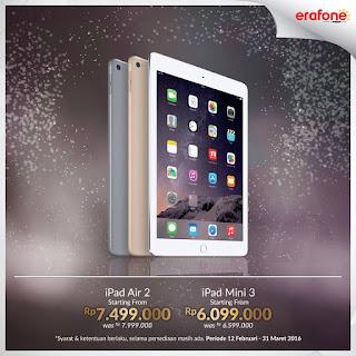 Harga Spesial iPad di Erafone