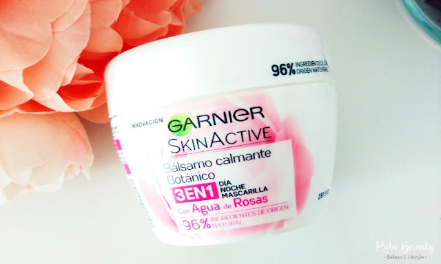 review opinion garnier skin active balsamo calmante botanico 3 en 1