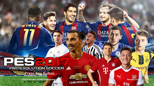 PES 2017 Startscreen Pack by ZeroPES