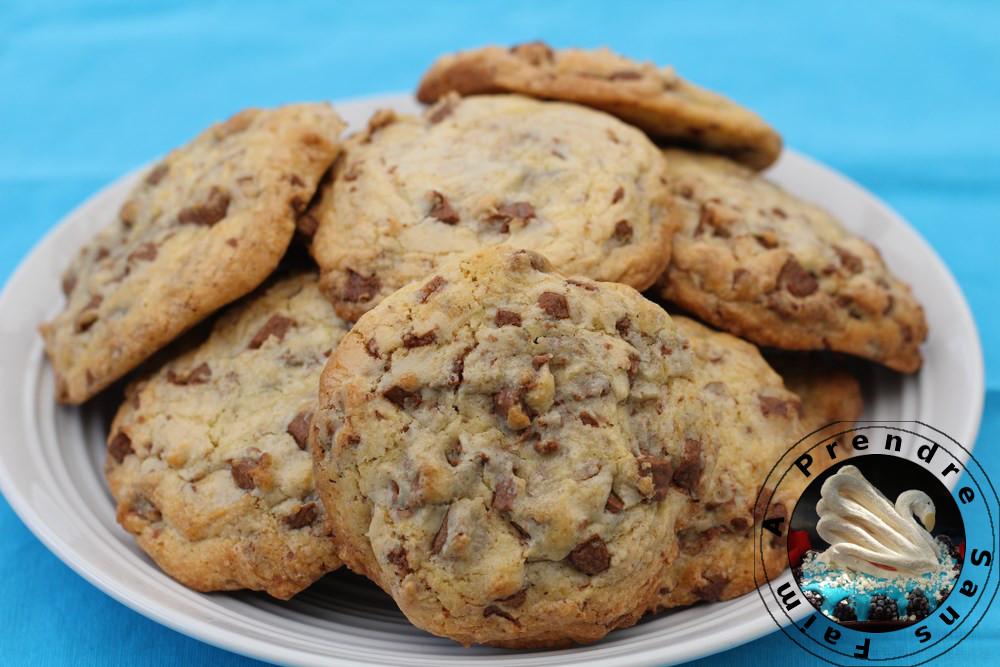 Cookies vanille et pépites de chocolat