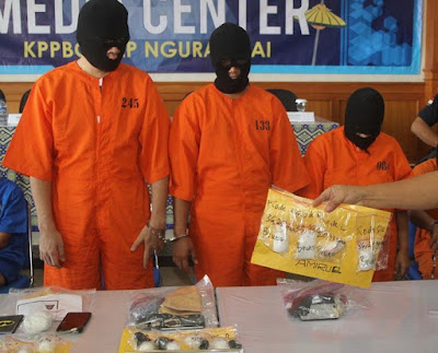 Bali drug smugglers