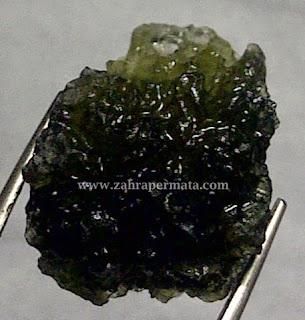 Batu Permata Moldavite - ZP 288