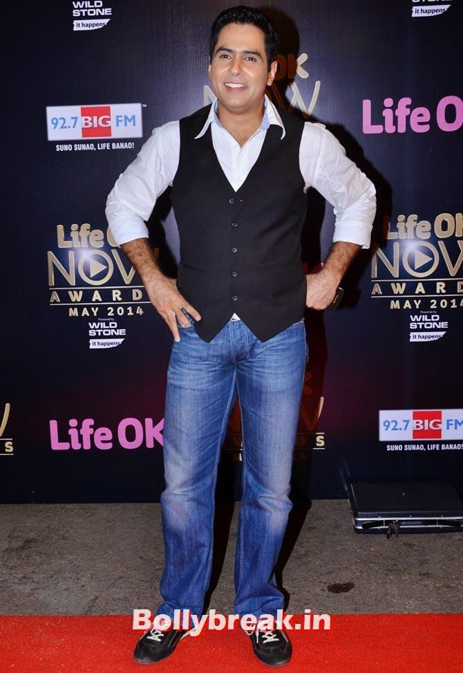 Aman Verma, Akshay, Jacqueline, Prabhu Dheva attend Life OK Awards