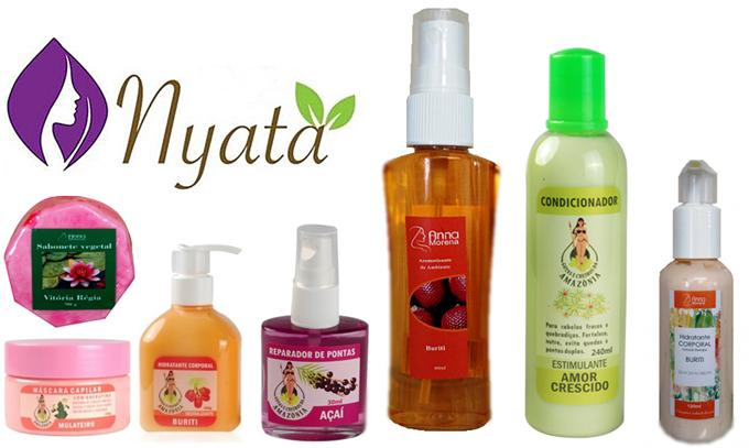 Nyata Cosméticos produtos