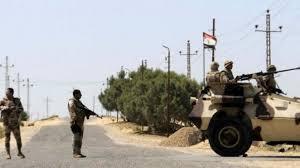 القوات المسلحةو العمليات العسكرية, سيناء, استشهاد وإصابة ضابط و9 جنود,