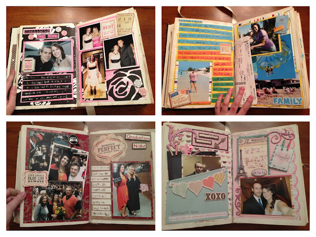 Senior Scrapbook: The Second Best Idea I Ever Stole