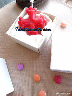 αρωματικά κεράκια, μπομπονιέρα βάπτισης, custommade