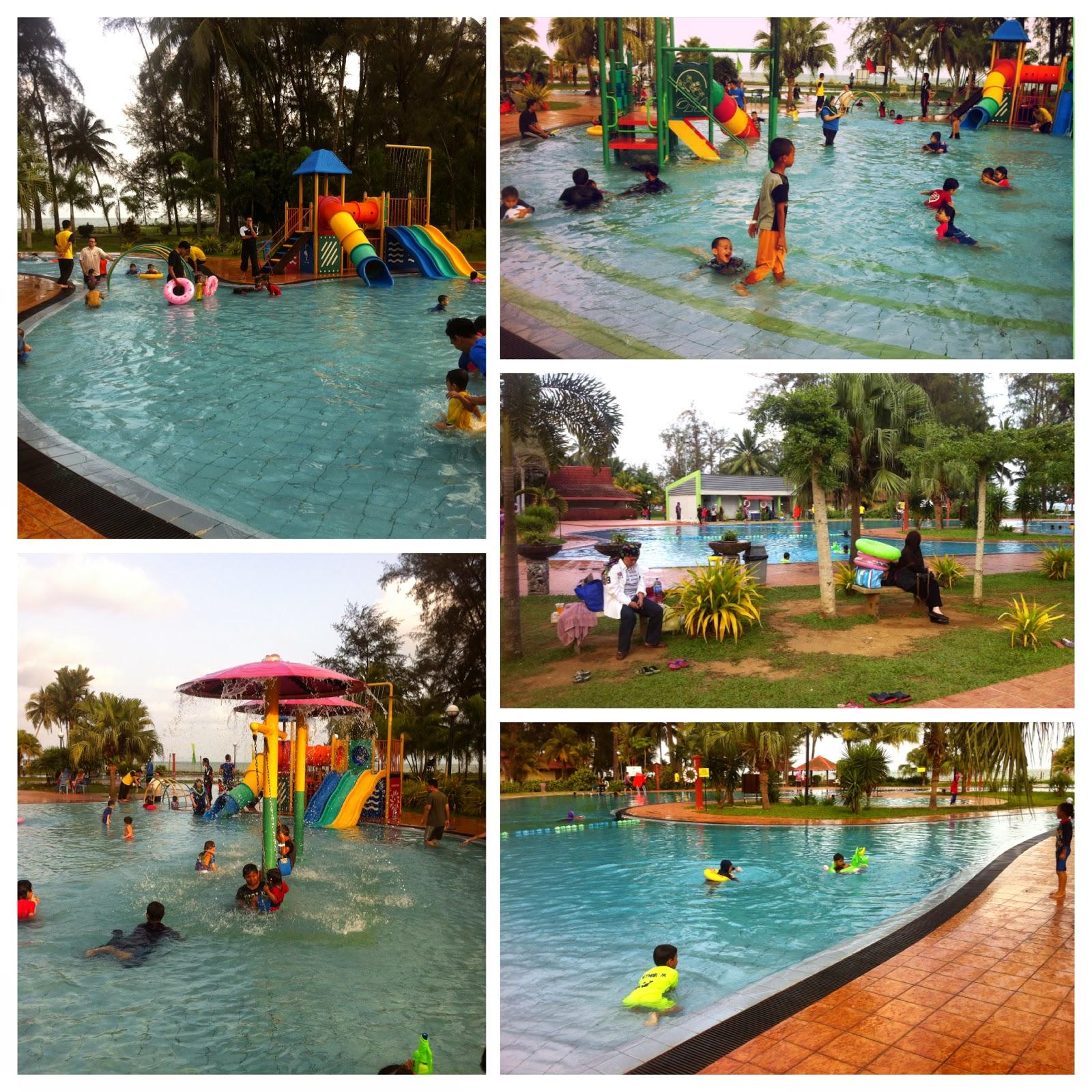 Harga Mandi Kolam De Rhu Beach Resort