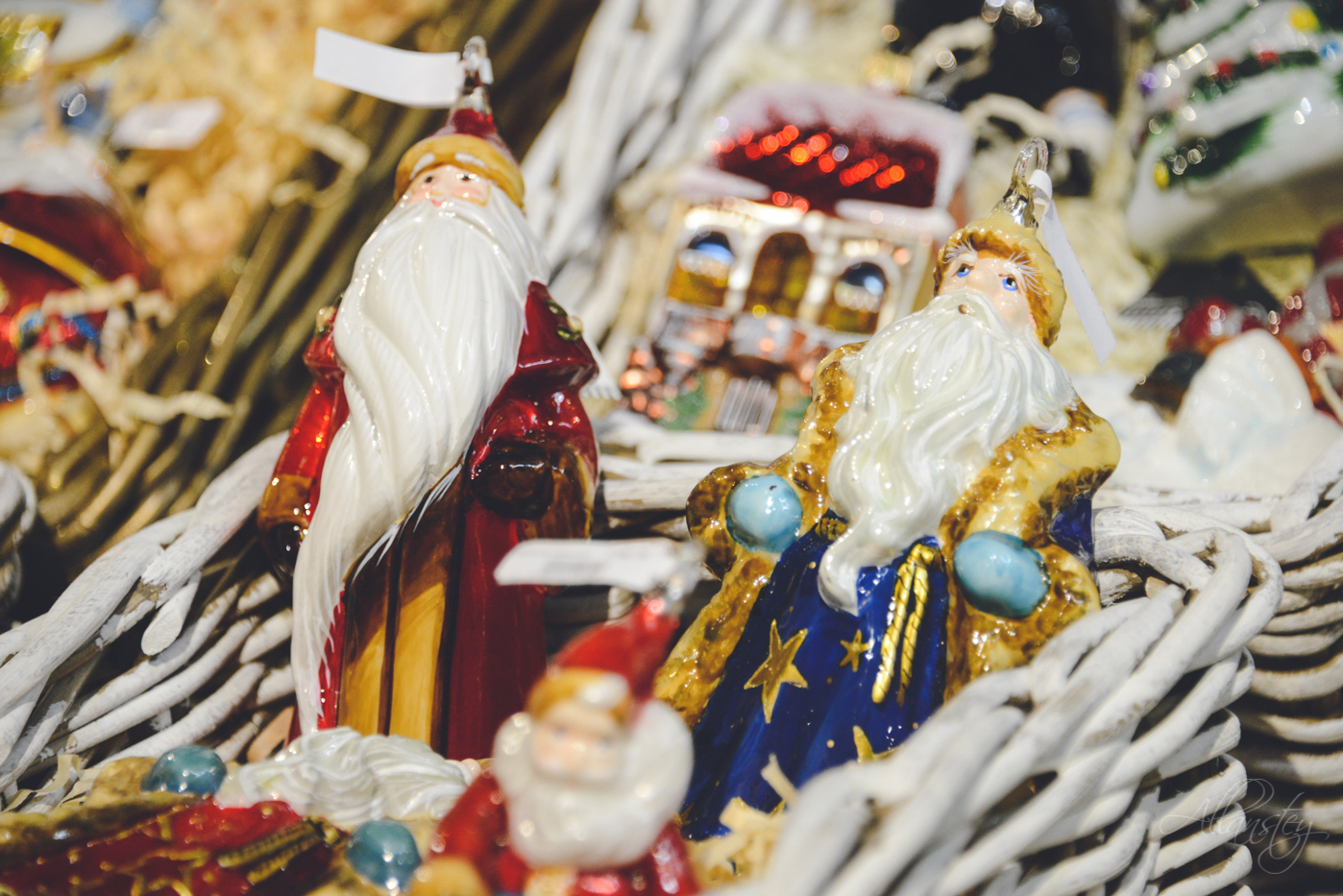Ded Moroz Christmas holiday decorations