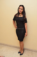 South Actress Amulya in short black dress at Kalamandir Foundation 7th anniversary Celebrations ~  Actress Galleries 015.JPG