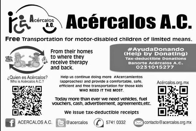 Transporte gratuito a discapacitados - donaciones