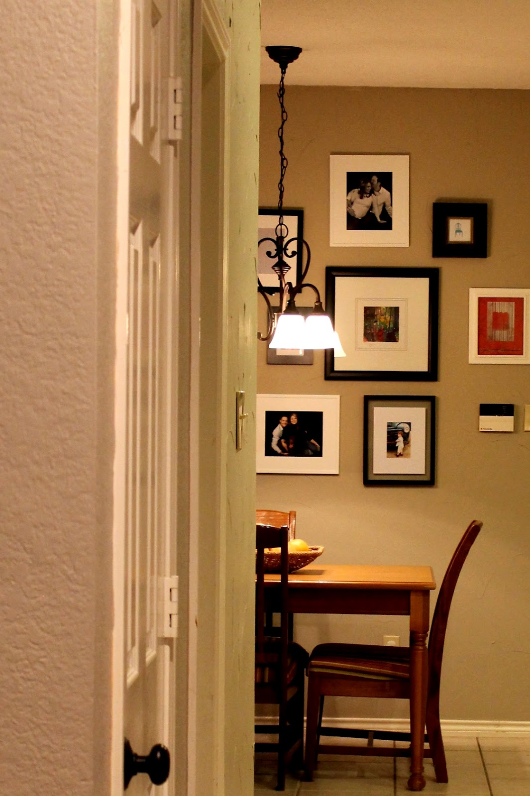 Life's Sweeter with Chocolate: Kitchen Frame Wall
