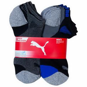 Lốc vớ 8 đôi dành cho nam giới hàng chính hãng hiệu Puma Men nhập từ Mỹ