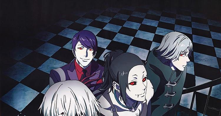 anime tokyo ghoul 1 temporada online: Tokyo Ghoul 3° Temporada