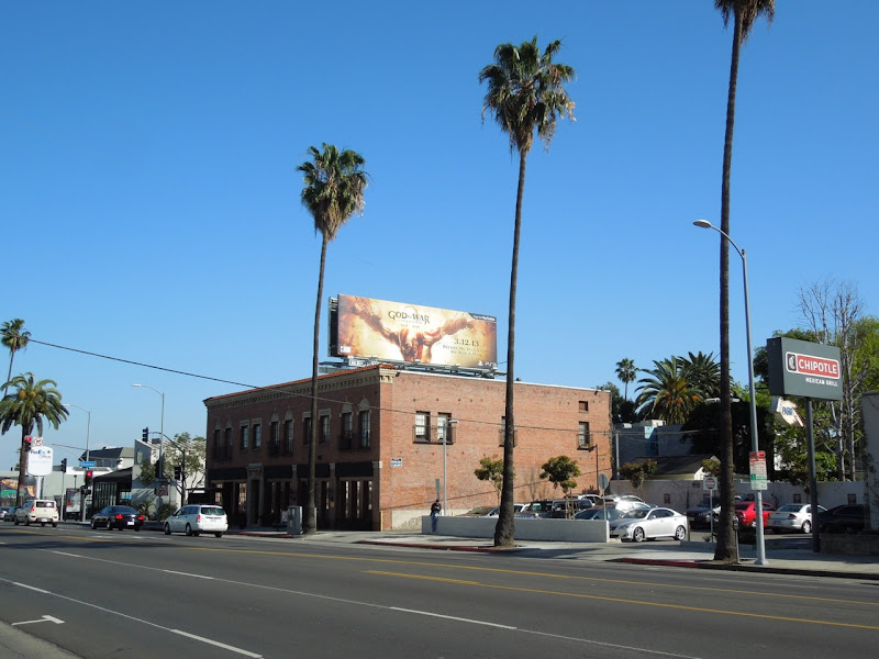 God of War Ascension billboard