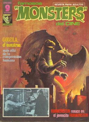 Famosos 'Monsters' del Cine, numero 7 de la mítica revista.