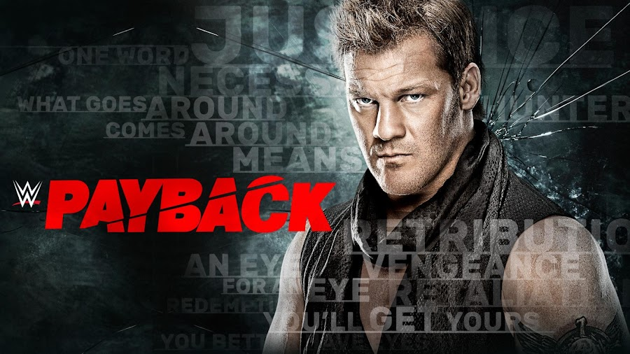 "complete details about WWE's Payback 2017 PPV Date, Time and Live/Repeat Telecast Schedule for India & Indian Subcontinent (Afghanistan, Bhutan, Bangladesh, India, Maldives, Nepal, Pakistan, Sri Lanka, and Tibet). You can download WWE Payback 2017 Official Wallpaper & Poster by clicking above image. ""Born for Greatness"" by Papa Roach is the official theme song of WWE Payback 2017. You Can download mp3 or m4p from iTunes."