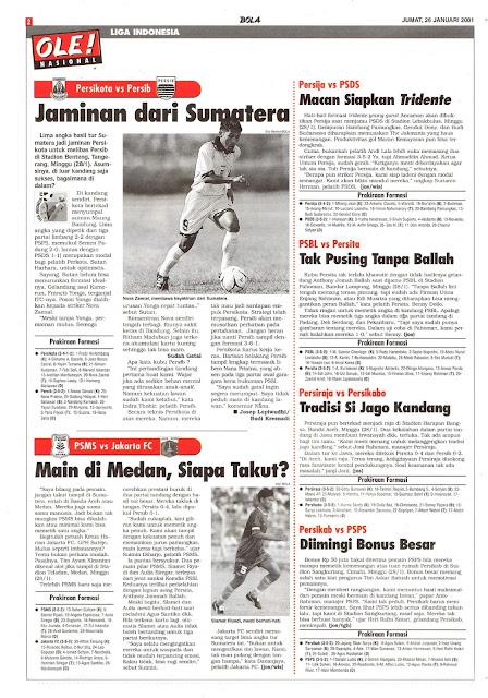 LIGA INDONESIA PERSIKOTA TANGERANG  VS PERSIB BANDUNG