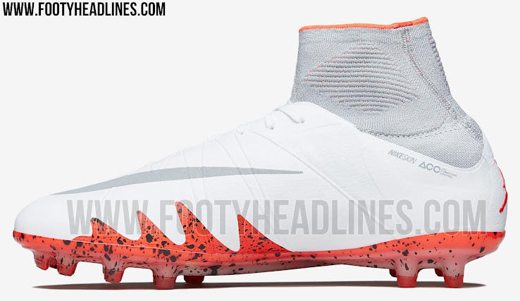 online retailer 7190d c98d0 Last but not least, the iconic Jumpman logo is stitched onto the heel of  the Nike Hypervenom Jordan x Neymar cleats, while Michael Jordan and  Neymar s shirt ...