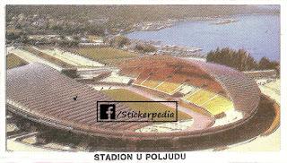 Hajduk Split sličice album Fudbaleri i Timovi 1986/87