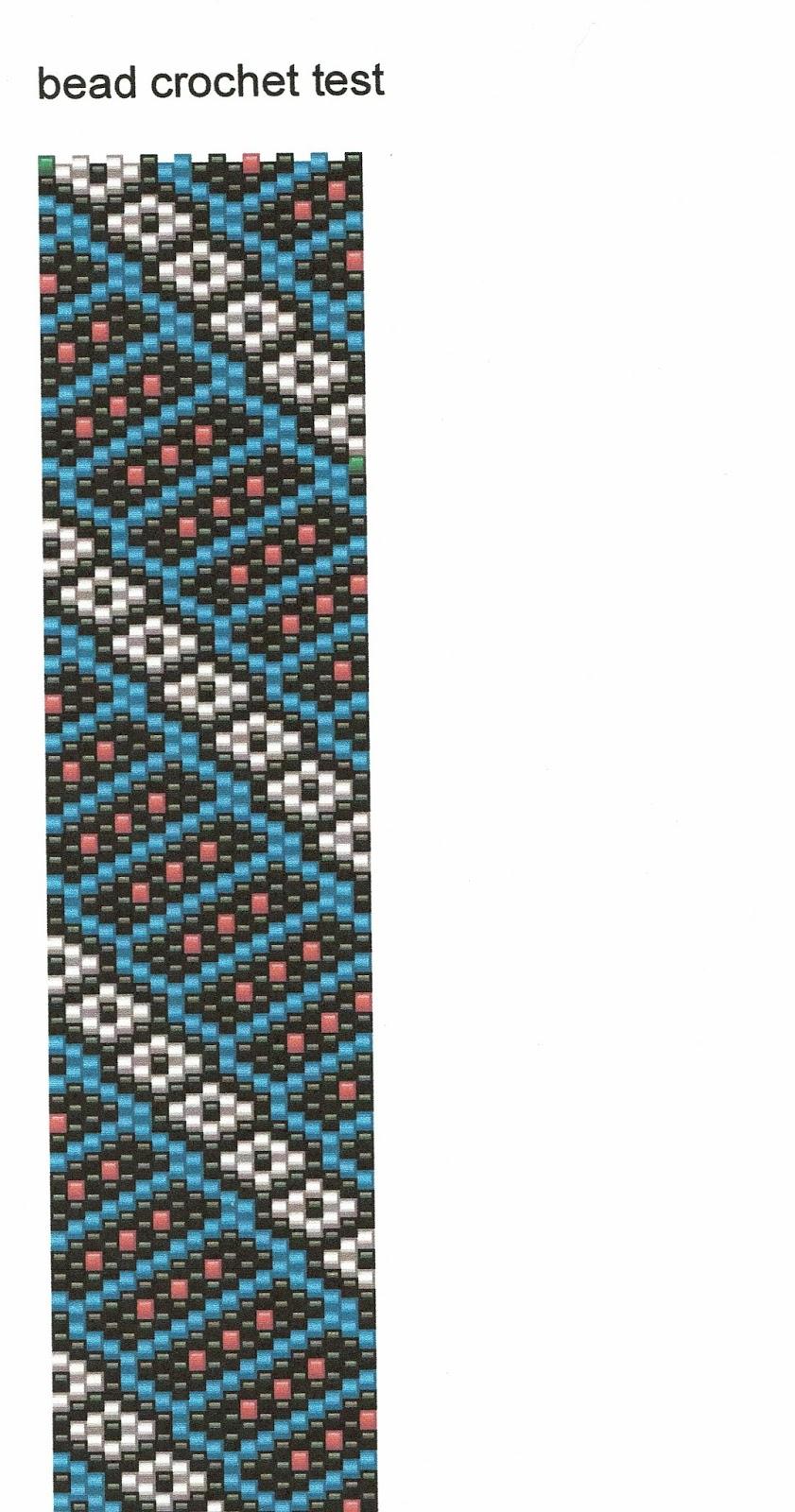 Können Sie Ein Perlen Häkeln Seil Muster Für Pwat Peyote Mit Einem