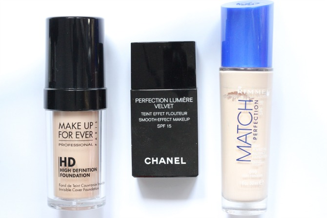 Top 3 foundations for Summer