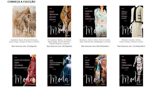 Coleção Folha, livros sobre Moda foto
