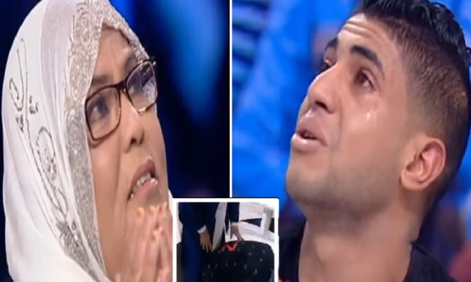 شاهد شاب يتوسل لأمه لتقبل منه كليته حتى ينقذها من الموت الشاب التونسي الذي أبكى الملايين