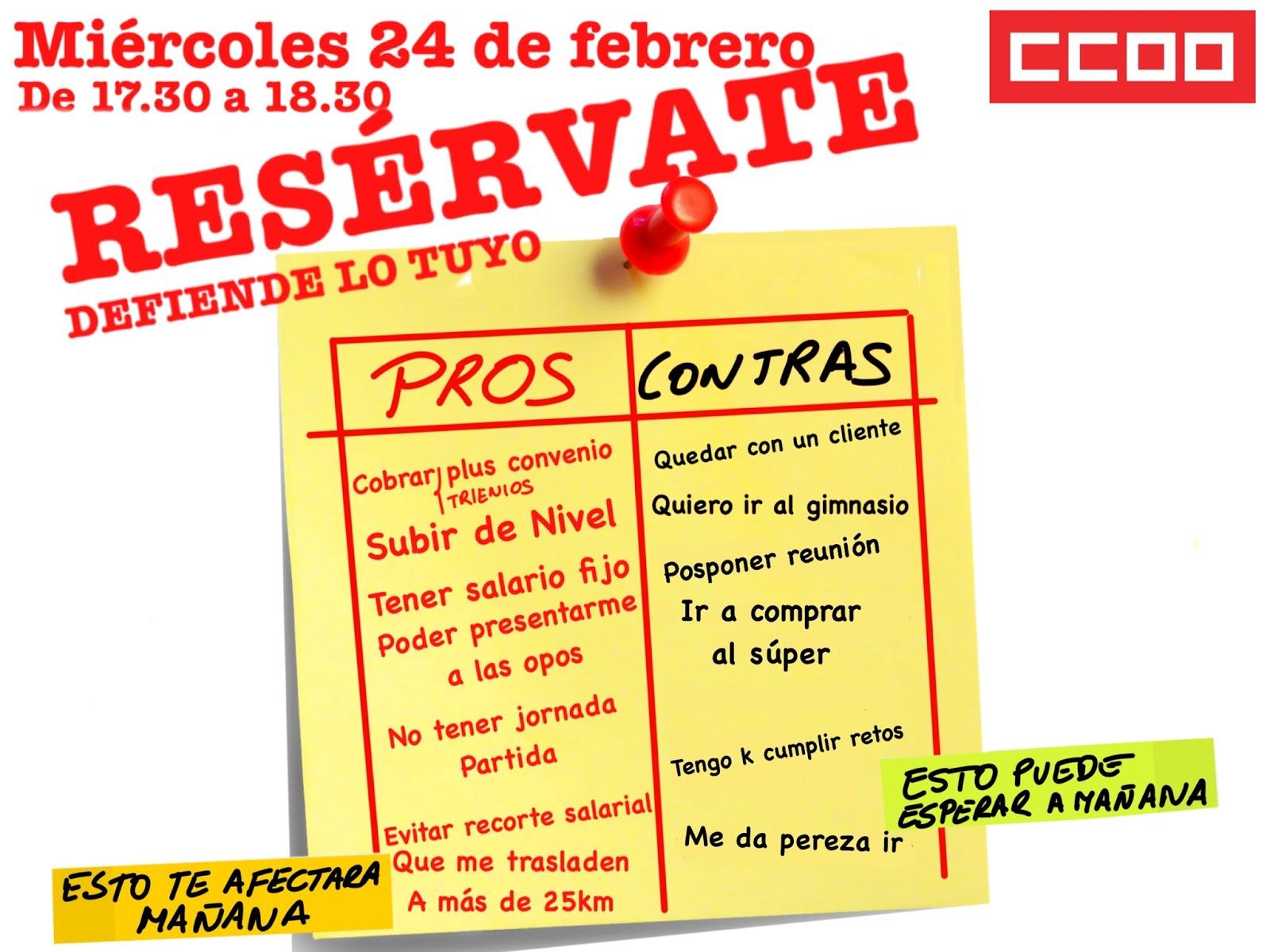 Ccoo servicios bmn 24f porunconveniojusto for Convenio colectivo oficinas y despachos sevilla
