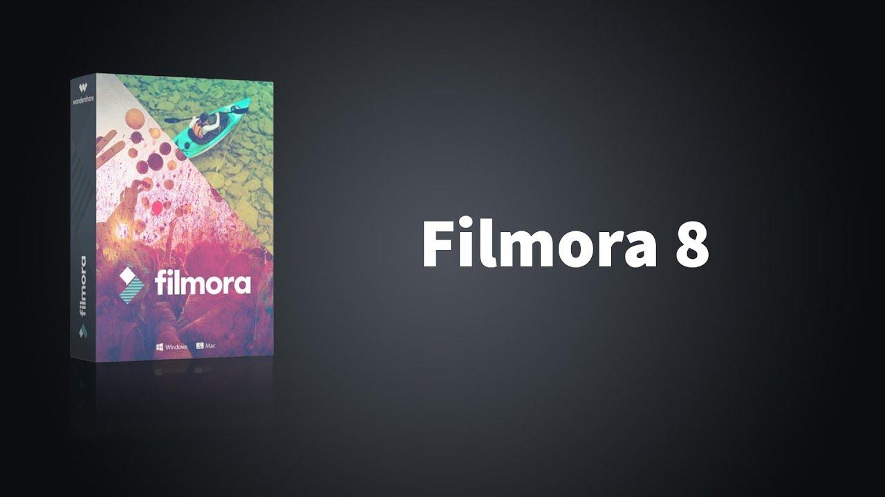 filmora 8.5