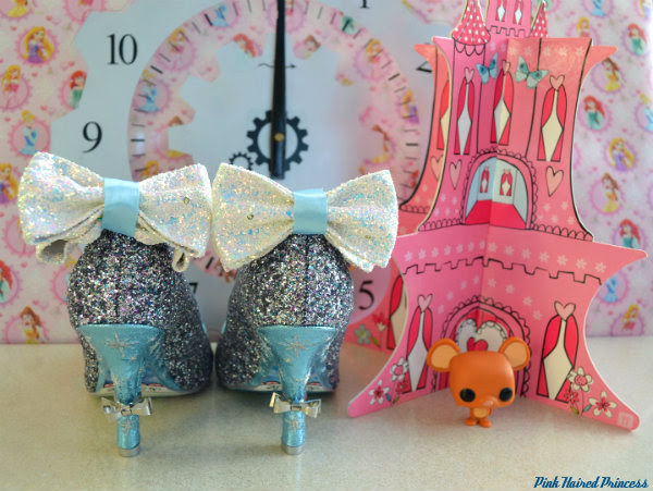 irregular choice sparkling slipper back bows