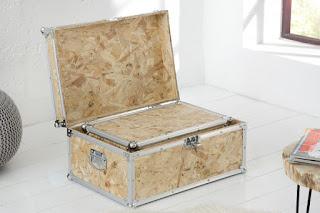 Set kufríkov z dreva a kovu Reaction.