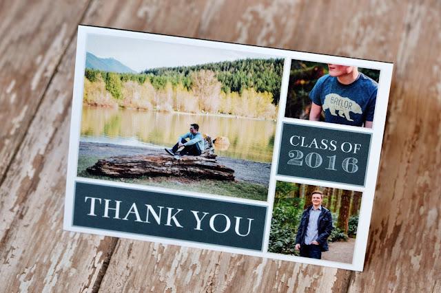 senior graduation thank you notes