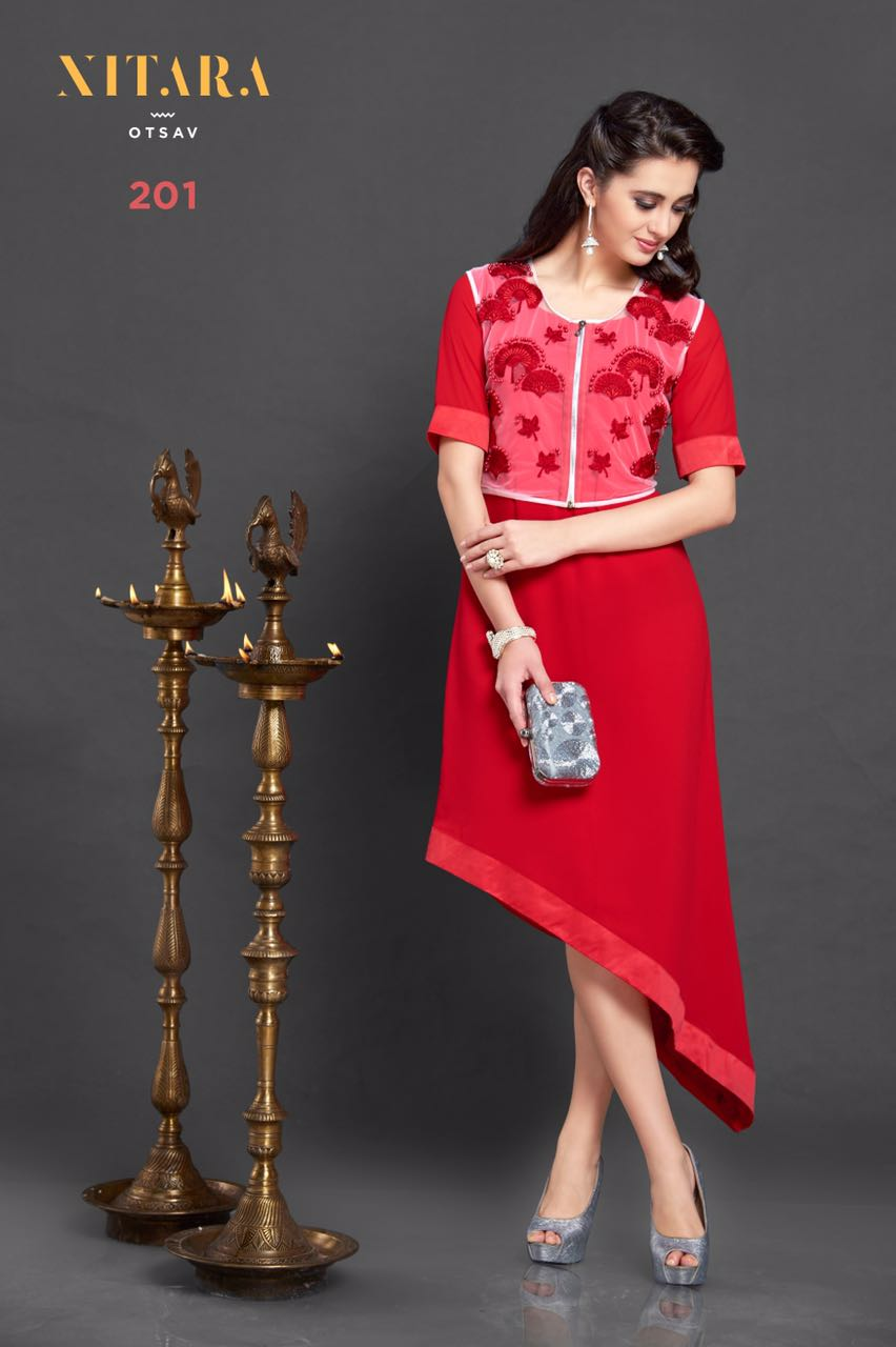 Utsav – Indian And Western Wear Stylish Look Kurti