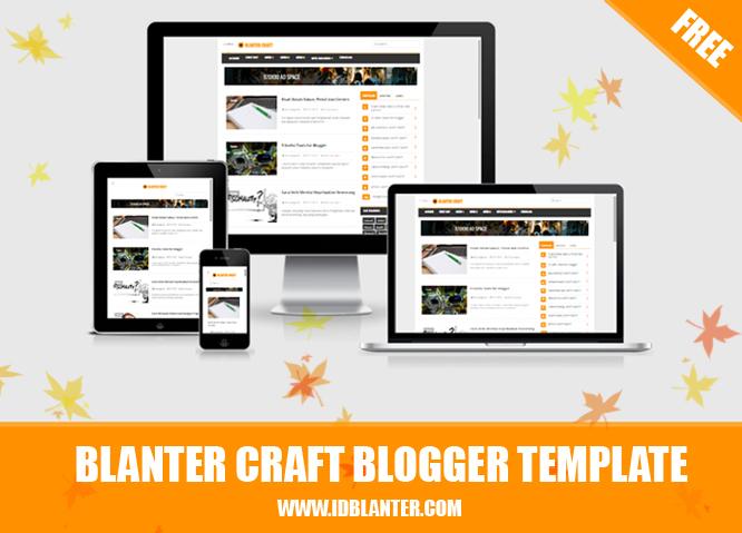 Blanter Craft Responsive Blogger Template