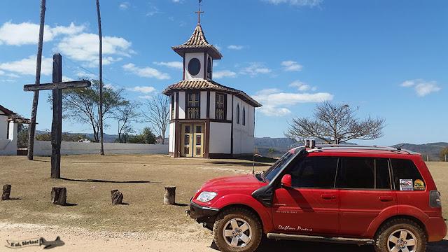 Capela Nossa Senhora Rosario, Milho Verde, Serro, Minas Gerais, TR4 Deadpool, Caminho dos Diamantes, Estrada Real