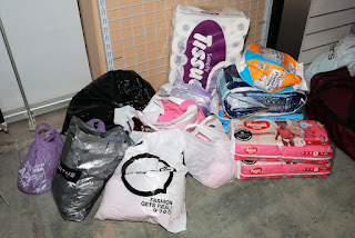 Relief nappies and toiletries for Knysna fires victims