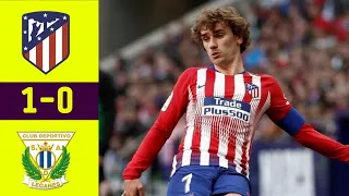 Atletico Madrid Vs Leganes 1-0 Football Highlights and Goals 2019
