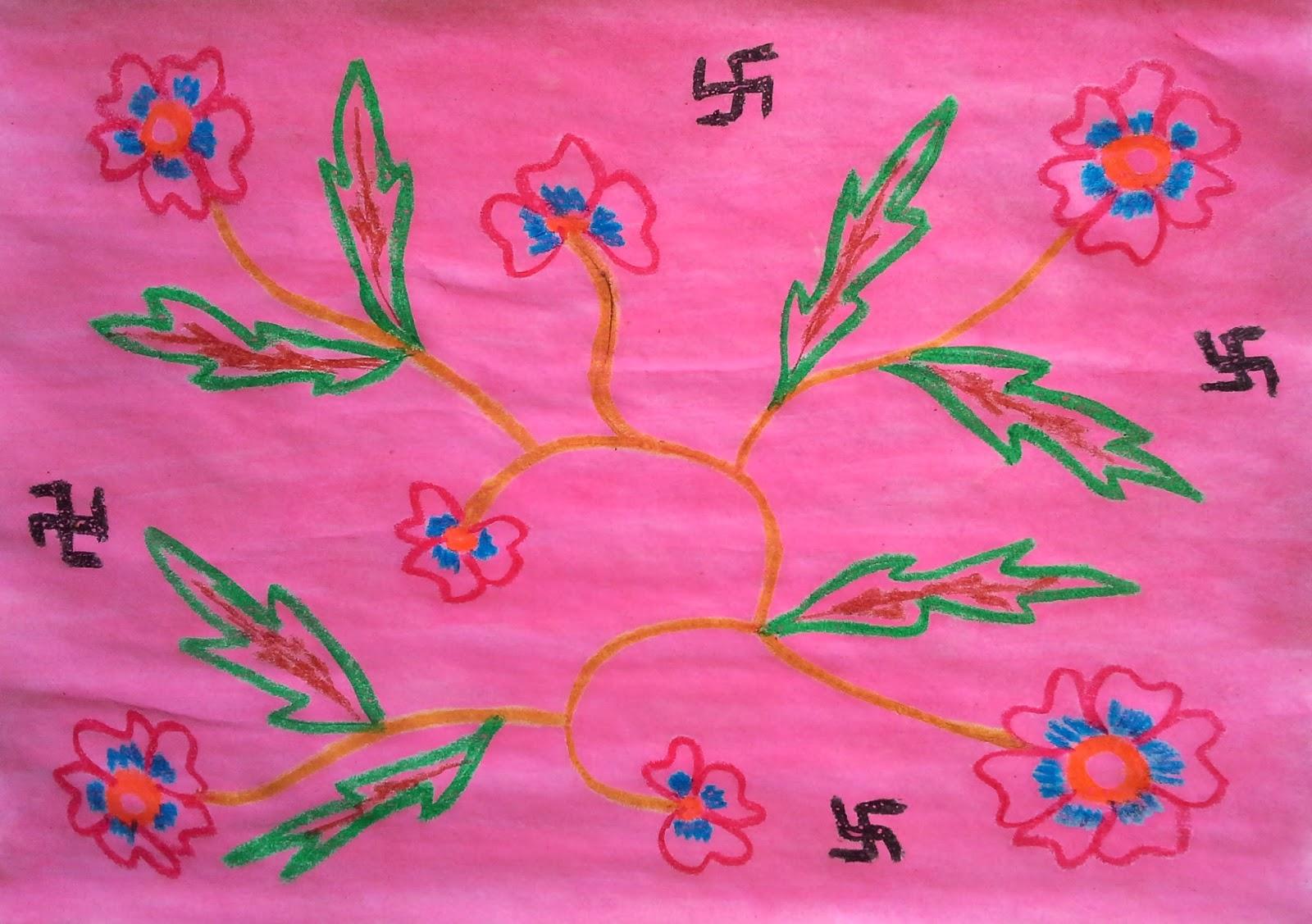 29+ Gambar Batik Sederhana Anak Sd, Yang Banyak Di Cari!
