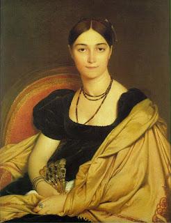 Mme Devauçay Ingres